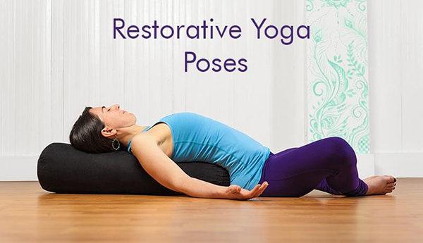 Postures de yoga réparatrices